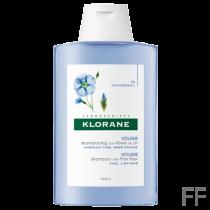 Klorane Champú Volumen con Fibras de Lino 400 ml