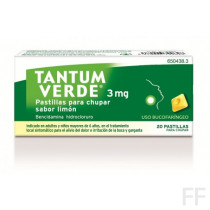 Tantum verde pastillas limón