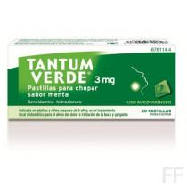 Tantum verde pastillas menta