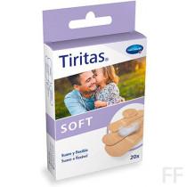 Tiritas Soft - Hartmann (20 uds, 4 tamaños)