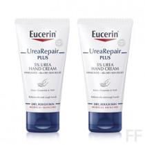 Duplo Eucerin Urea Repair Plus Crema de manos 5% Urea