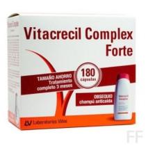 Vitacrecl Complex Forte 180 cápsulas + REGALO Champú