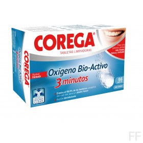 Corega Oxigeno Bio-Activo 66 Tabletas