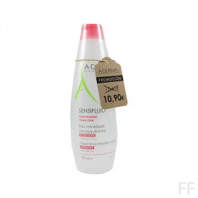 Aderma Sensifluid Agua micelar Piel sensible 500