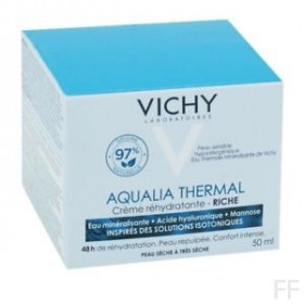 Vichy Aqualia Thermal Crema rehidratante Rica 50