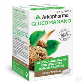 Arkocápsulas Glucomanano 80 cápsulas / Arkopharm