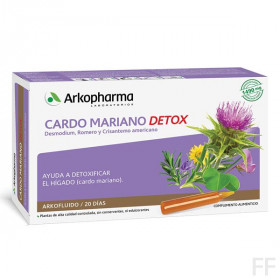 Arkofluido / Cardo Mariano Detox - Arkopharma (20 ampollas)