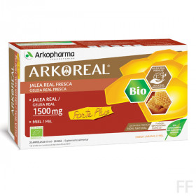 ARKOREAL JALEA REAL FORTE PLUS 1500 20 AMPOLLAS