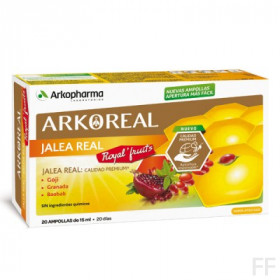 Arkoreal / Jalea Real Royal Fruits - Arkopharma (20 ampollas)