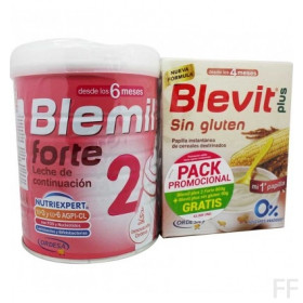 Blemil Plus 2 Forte + REGALO Blevit Sin gluten