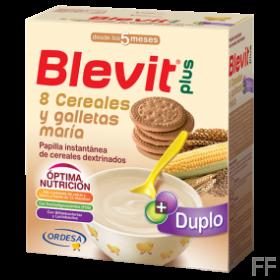 Blevit Plus Duplo 8 Cereales y Galletas María 60