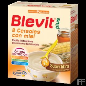 Blevit Plus Superfibra 8 Cereales con Miel 600 gr