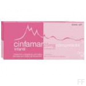 CINFAMAR INFANTIL (25 MG 4 COMPRIMIDOS )