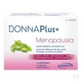 DonnaPlus+ Menopausia 30 Comprimidos y 30 Cápsulas blandas