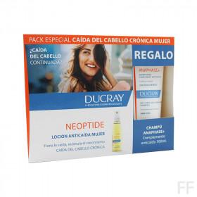 Ducray Neoptide Loción Anticaída Mujeres 3 x 30 ml