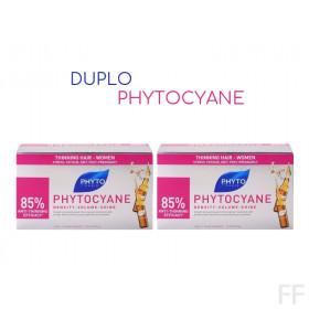 Duplo Phytocyane Tratamiento Anticaída  / Phyto 2 x 12 ampollas