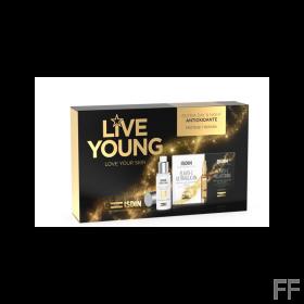 Pack Live Young Age repair + Isdinceutics Flavo C Ultraglican / Melatonin