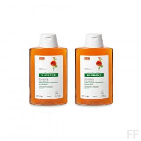 Duplo Klorane Champú Anticaspa seca a la Capuchina 2 x 200 ml