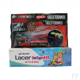 Lacer Infantil Gel dental Sabor fresa 75 ml