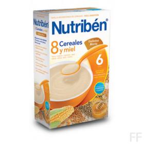 Nutriben 8 Cereales con Miel Galletas María 600