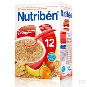 Nutriben Desayuno Copos de Trigo y Frutas