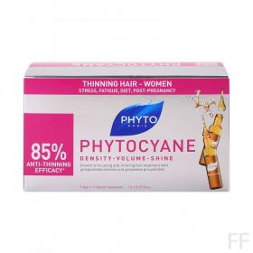 Phytocyane Tratamiento Anticaída  / Phyto 12 amp