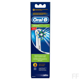 Oral B Recambio Cross Action 3 unidades