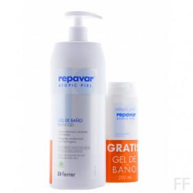 Atopic piel Gel de baño / Repavar 750 ml
