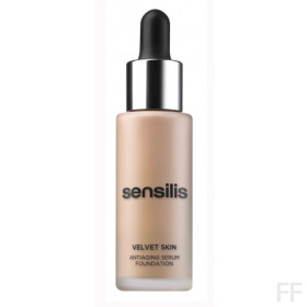 Sensilis Velvet Skin Base de Maquillaje Antiedad - Café