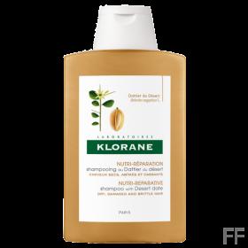 Klorane Champú al Dátil del desierto Cabellos secos y dañados 400 ml