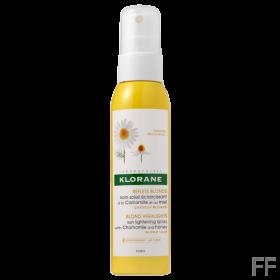 Klorane Spray aclarador rubio Camomila 125 ml