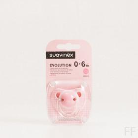 Suavinex Chupete Evolution Rosa 0-6m 1 Ud