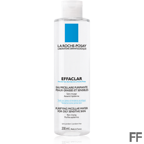 Agua Micelar EFFACLAR ULTRA Piel Grasa 400 ml
