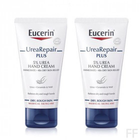 Duplo Eucerin Urea Repair Plus Crema de manos 5% Urea