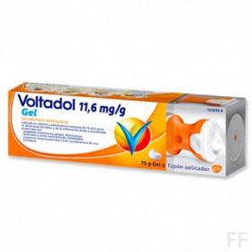 VOLTADOL 11,6 MG/G GEL Y TAPÓN APLICADOR