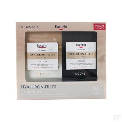 Cofre Eucerin Hyaluron Filler - Elasticity Crema Día + Noche