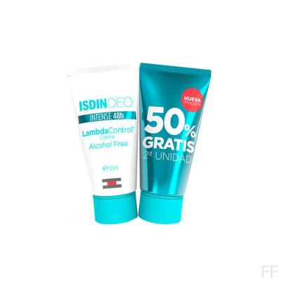 Duplo Isdin Lambda Control Desodorante Crema 50 ml