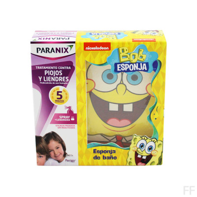 Paranix Spray Antipiojos 100 ml + REGALO Bob Esponja