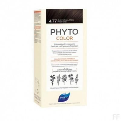 Phytocolor Tinte sin amoniaco / 04.77 CASTAÑO MARRÓN INTENSO