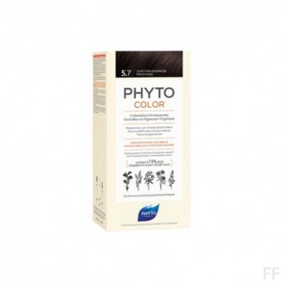 Phytocolor Tinte sin amoniaco / 05.7 CASTAÑO MARRÓN