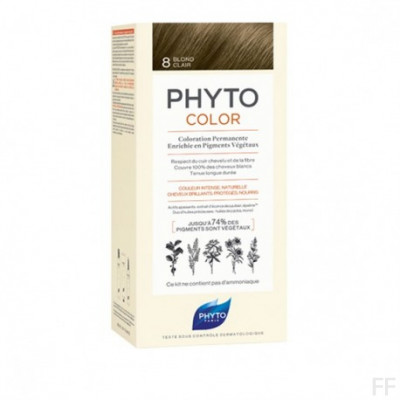 Phytocolor Tinte sin amoniaco / 08 RUBIO CLARO