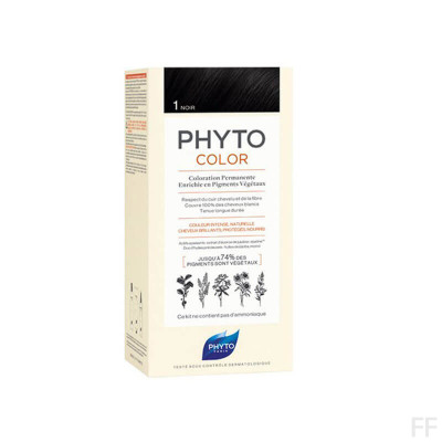 Phytocolor Tinte sin amoniaco / 01 NEGRO